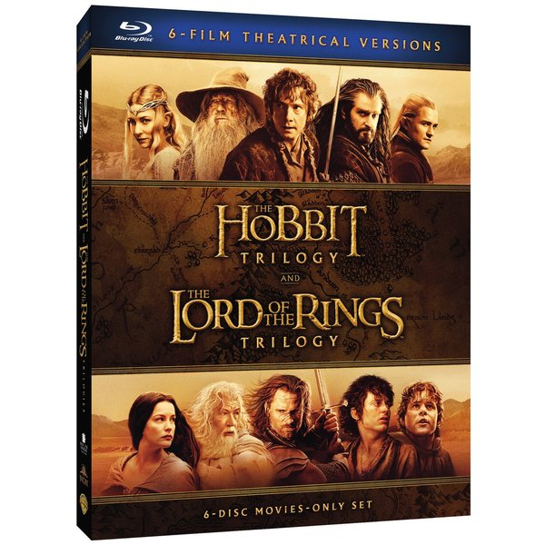 Middle-Earth Theatrical Collection: The Hobbit Trilogy / The Lord of the Rings Trilogy (Blu-ray Disc) 20177046