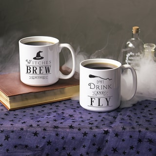 Witches Brew 20-ounce Large Coffee Mug Set