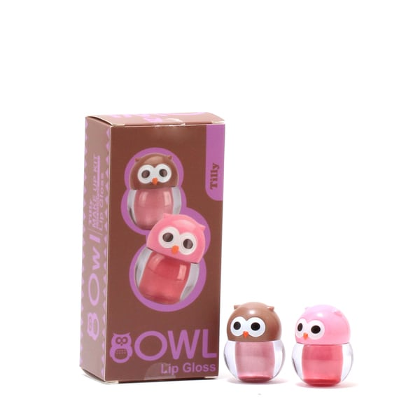 Tilly Owl Lip Gloss Duo
