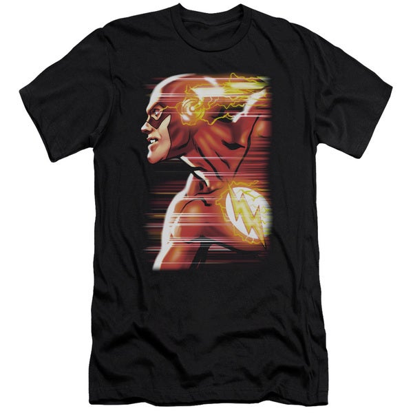JLA/Speed Head Short Sleeve Adult T-Shirt 30/1 in Black