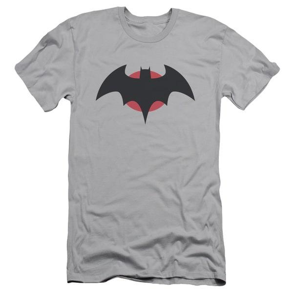 JLA/Thomas Wayne Short Sleeve Adult T-Shirt 30/1 in Silver
