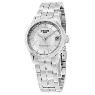 Tissot Women's T086.207.11.031.10 'Jungfraubahn' Silver Dial Stainless Steel Swiss Automatic Watch