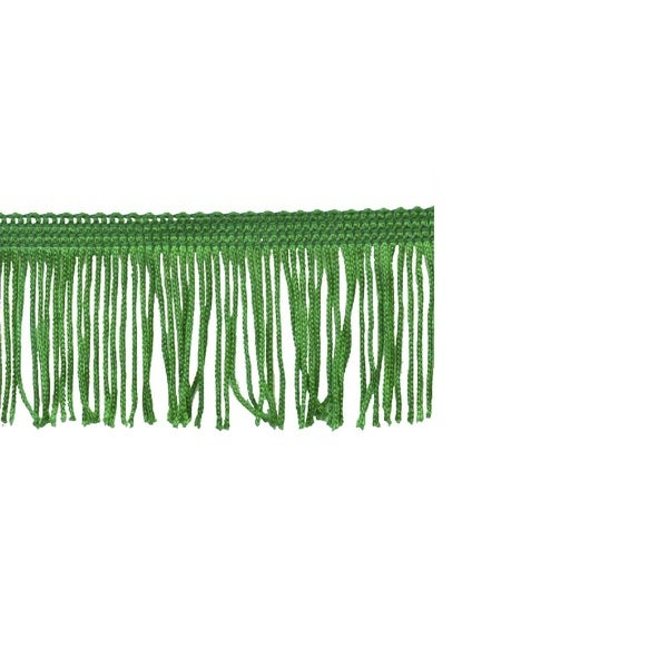 Jungle Green 2-inch Chainette Fringe Trim