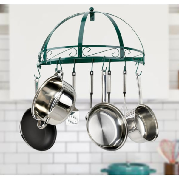 Kinetic GoGreen Classicor Wrought Iron Semi Circle Pot Rack