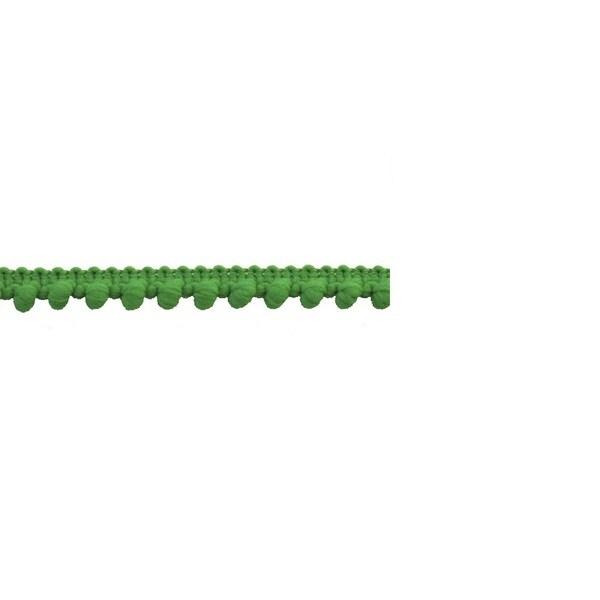 Green 1-inch Pom-pom Trim
