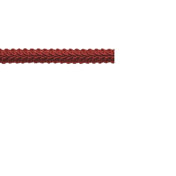 Red Polyester 0.5-inch Wide Braid Trim (25 Yards)