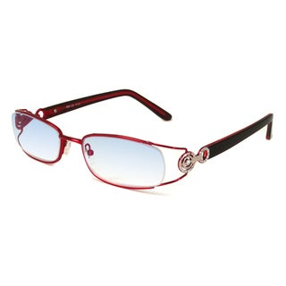 Calabria Readers Crystal Red Reading Glasses