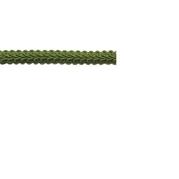 1/2-inch Green Braid Trim