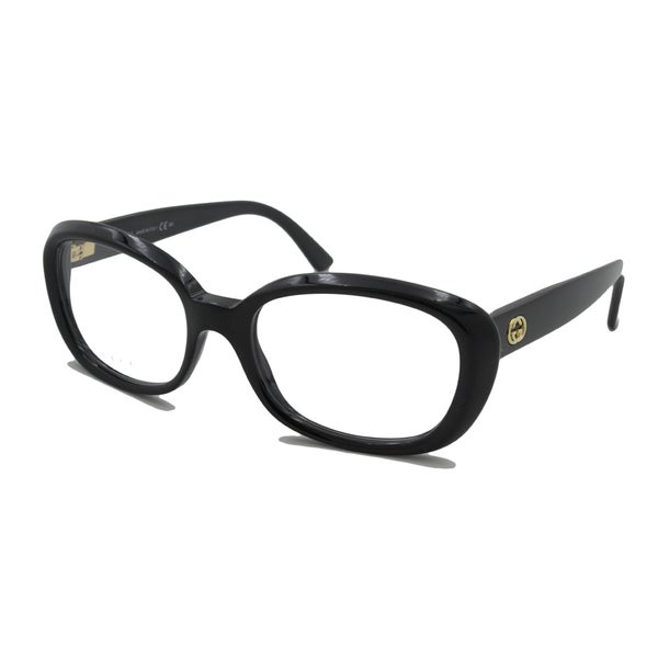 Gucci Readers Square Black Reading Glasses