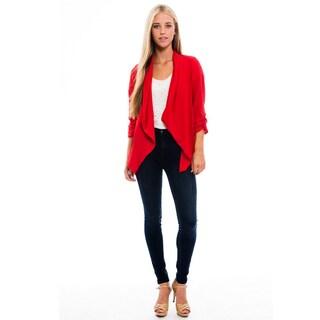 Women's Red Cardigan