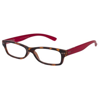 Able Vision Square Tortoise + Red Reading Glasses