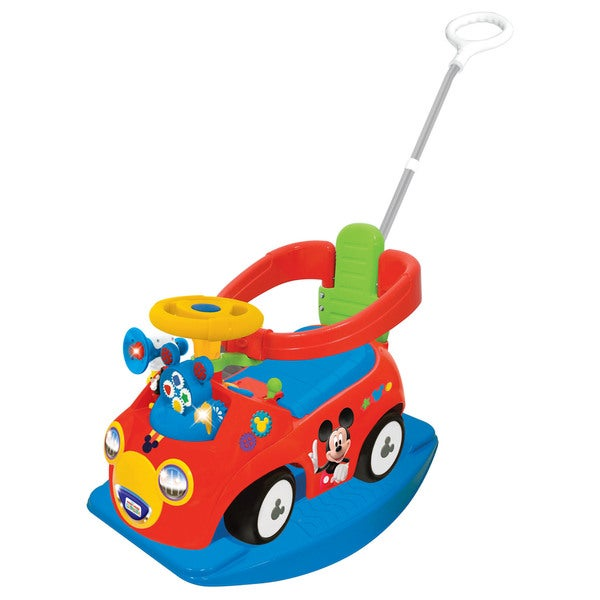 Kiddieland Disney Mickey Mouse Clubhouse 4-in-1 Activity Ride-On