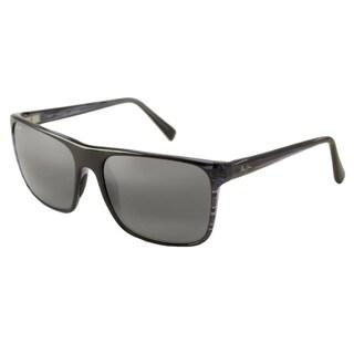 Maui Jim 705-03S Square Neutral Grey Sunglasses