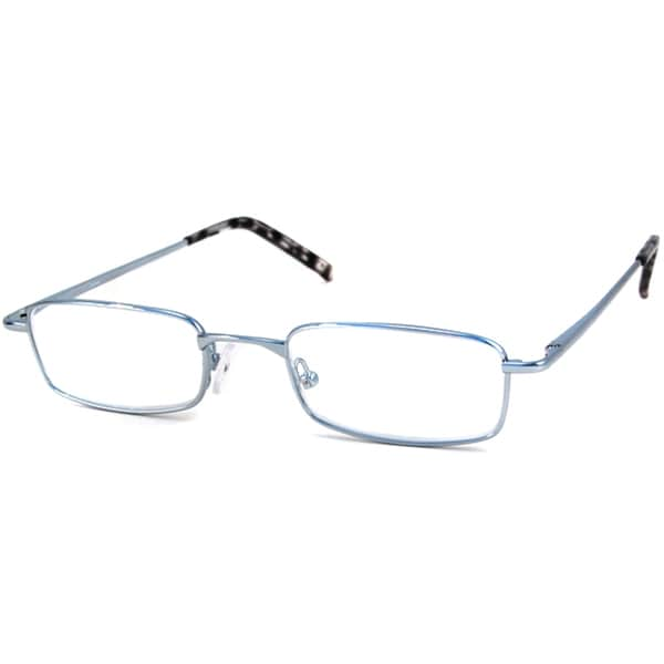 Calabria Readers Shiny Silver Reading Glasses