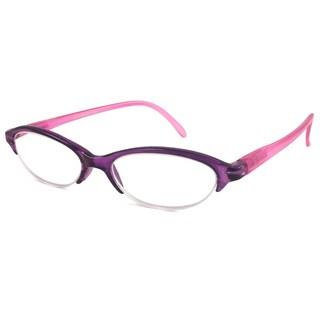 Urbanspecs Readers Rimless Purple Reading Glasses