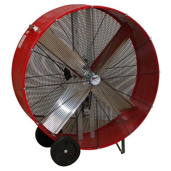 "Ventamatic BF36BDRED 36"" Red Fan Drum Belt Drive"