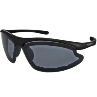 Peppers FL7353-1 Square Polarized Smoke with Flash Mirror Sunglasses
