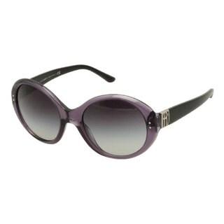 Ralph Lauren RL8084-52428G Round Gray Gradient Sunglasses