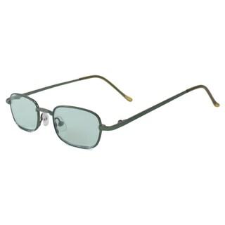 UrbanSpecs B23011-GG Square Green Sunglasses