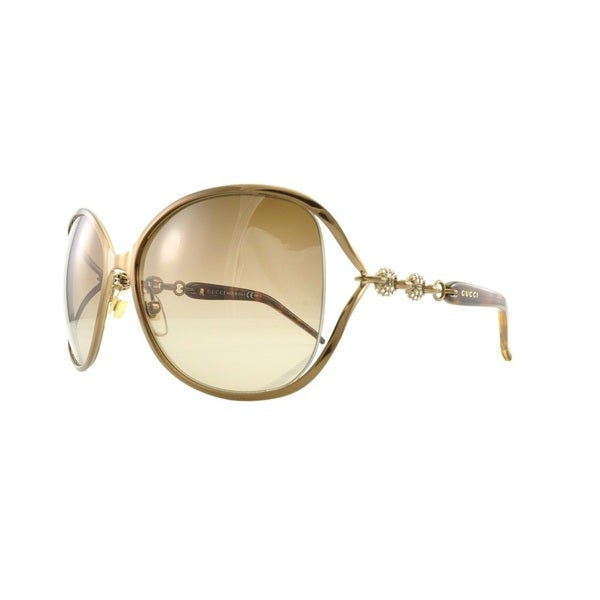 Gucci GG4250/N/S-0TUV Oversized Brown Gradient Sunglasses