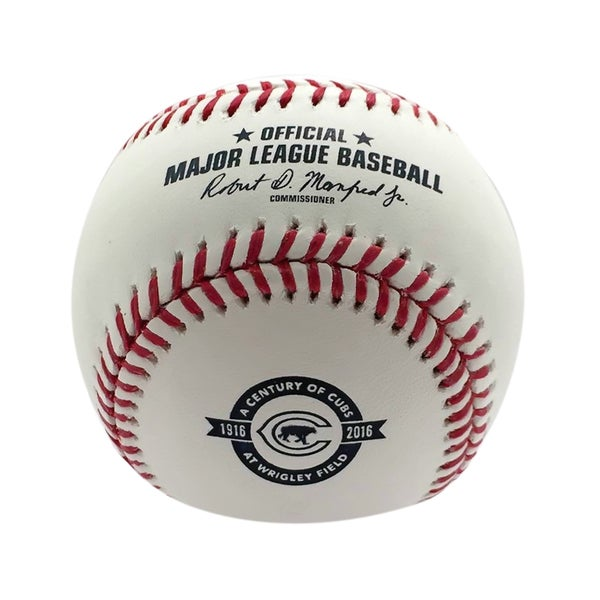 Creative Sports Rawlings Official 2016 A Century of Cubs at Wrigley Field Baseball with Display Case