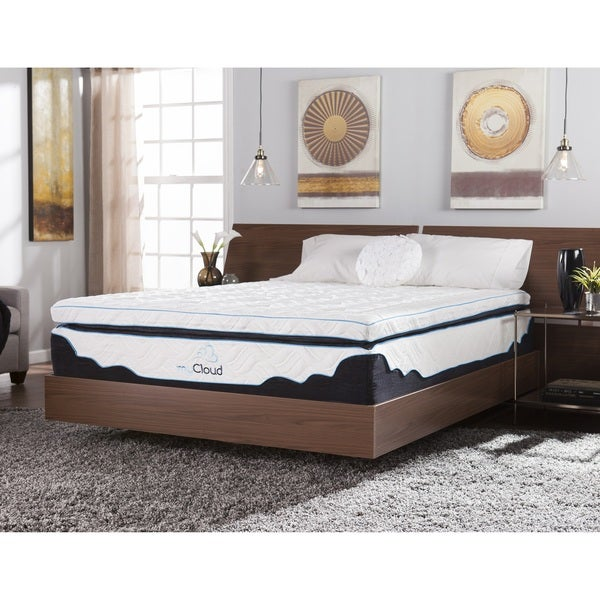 myCloud Nimbus 14-inch Cal King-size Gel Memory Foam Mattress