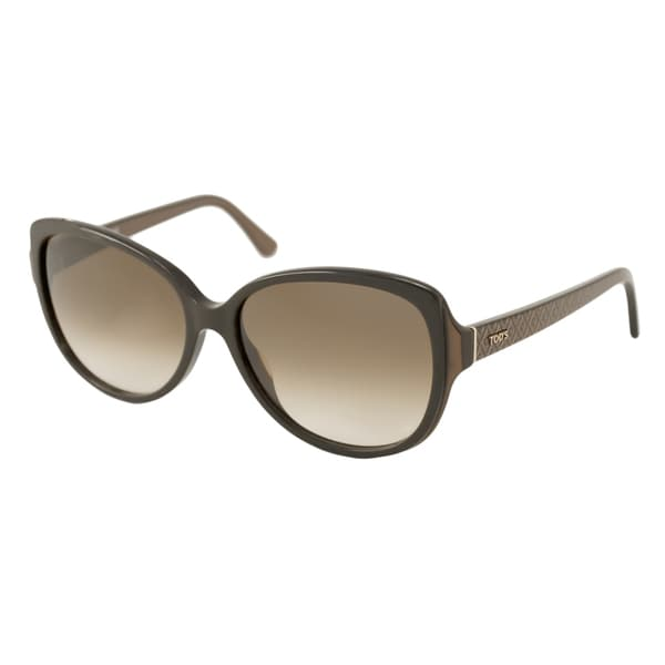 Tods TO0160-50F Square Brown Gradient Sunglasses