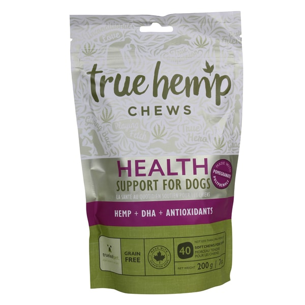True Hemp Dog Chews Health Support