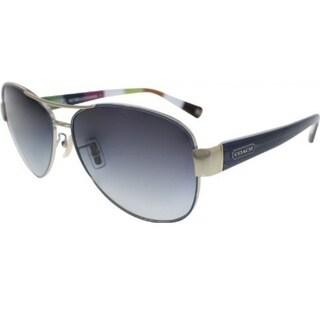 Coach HC7003-901011 Aviator Gray Gradient Sunglasses