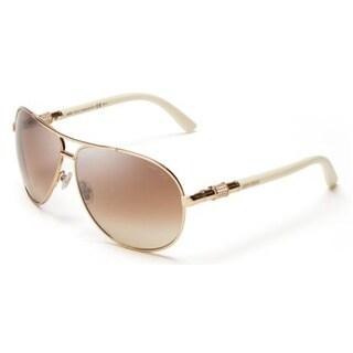 Jimmy Choo Walde/S-03X6 Aviator Brown gradient Sunglasses
