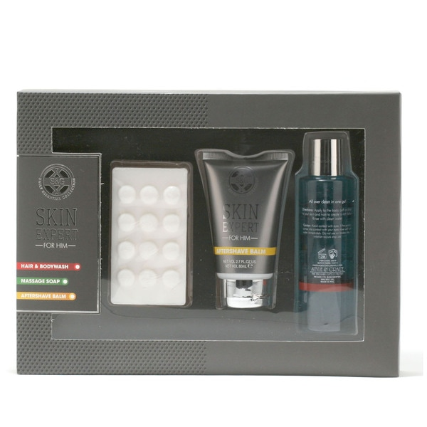 Style & Grace 3-piece Pamper Pack for Him