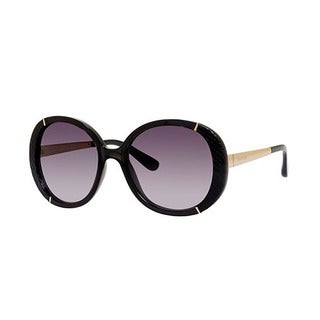 Jimmy Choo Millie/S-0EQE Oversized Gray Gradient Sunglasses