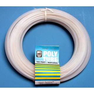 "Dial Manufacturing 4310 1/4"" X 100' Clear Polyethylene Tubing"