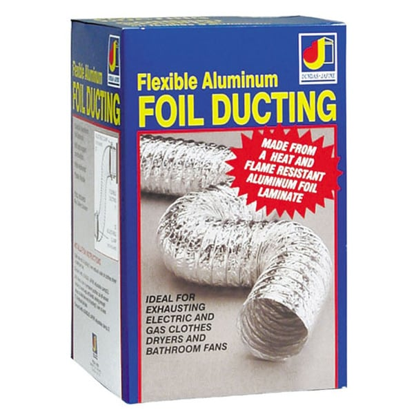 "Dundas Jafine AF325 3"" X 25' Aluminum Foil Ducting 20222913"