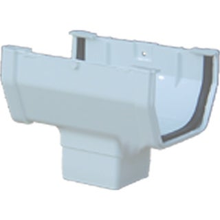 Raingo RW104 White Gutter Drop Outlet