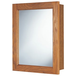 "Hardware House 419143 16"" Oak Heritage Medicine Cabinet"