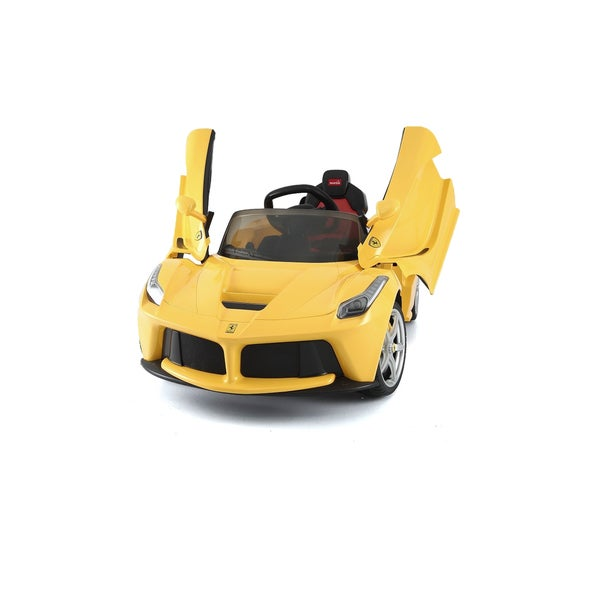 Best Ride On Cars Yellow 12V Ferrari