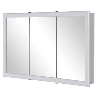 "Hardware House 419234 36"" White Aspen Medicine Cabinet"