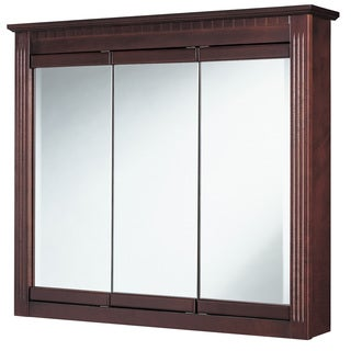 "Hardware House 419275 36"" Cherry Ambrosia Medicine Cabinet"