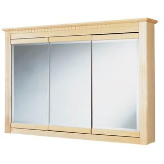 "Hardware House 419325 48"" Maplewood Medicine Cabinet"