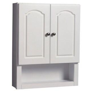 "Hardware House 419341 21"" X 26"" White Aspen Medicine Cabinet"