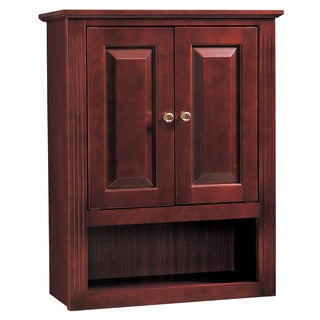 "Hardware House 419358 24"" Cherry Ambrosia Bath & Linen Cabinet"