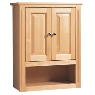 "Hardware House 419366 24"" Maplewood Bath & Linen Cabinet"