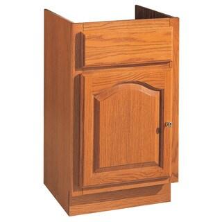 """Hardware House 419606 18"""" x 16"""" Oak Heritage One Door Vanity"""
