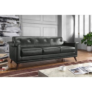 Engage tan leather loveseat reviews deals prices for Canape oxford honey leather sofa