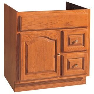 "Hardware House 419648 30"" X 18"" Oak Heritage Vanity"