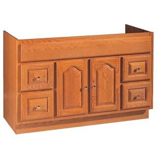 "Hardware House 419663 48"" X 18"" Oak Heritage Vanity"