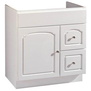 """Hardware House 419770 24"""" X 18"""" White Aspen Vanity"""