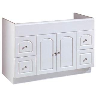 """Hardware House 419812 48"""" X 18"""" White Aspen Vanity"""