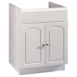 "Hardware House 419853 30"" X 21"" White Aspen Two Door Vanity"